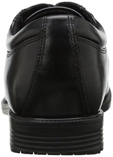 Rockport Mens Essential Details Waterproof AprOnToe Oxford Black OmlNUi5S