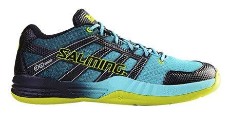Salming Race X Men's Indoor Court Shoe Turquoise (7.5)