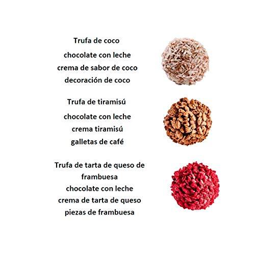 Trufas de Chocolate 100% Belga 9 trufas 74gr. Pure Chocolate: Amazon.es: Alimentación y bebidas