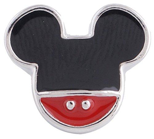 Enamel Mouse Charm - 9