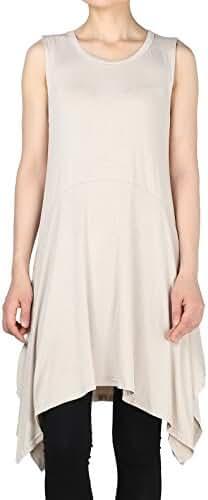Mordenmiss Women's Summer Sleeveless Tank Dress S-4XL