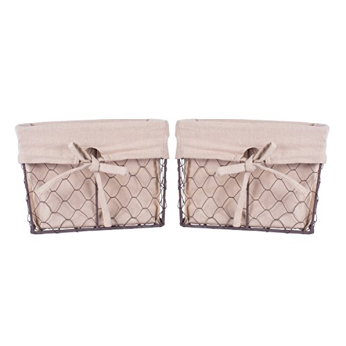 metal basket liner - 1