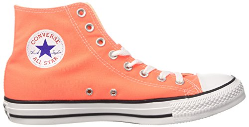 Converse Men's CTAS Hi Sneakers, Green Orange (Hyper Orange)