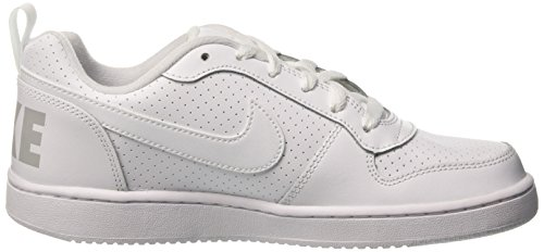 GS White White Court Scarpe Nike da Borough Bambino Low Basket qSnpt
