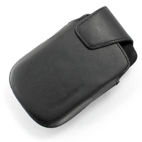 Original OEM Genuine Faux Leather Sleep Mode Case Holster Cover Flip Pocket Pouch Guard FOR BlackBerry T-Mobile Bold Touch 9900 4G 9930 Replacement