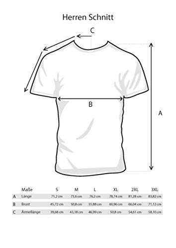 ::: EIMER FÜR ALLE - ALLE FÜR MALLE ::: Boys T-Shirt Sports Grey, Größe M