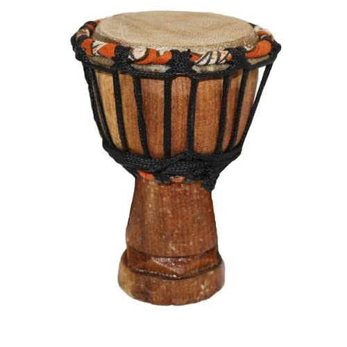 "Hot African Djembe Drum Mini Desktop Gift - 2"" X 4"" - Really Works! free shipping 5ZmKSCK2"