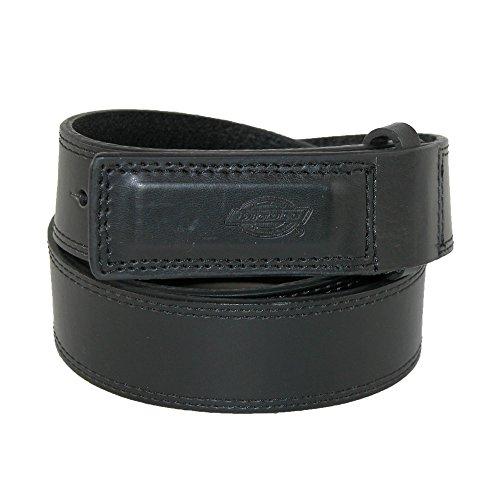 Dickies Mens Workwear Genuine Leather Belt,Black, X-Large (Mens Belt Dickies)