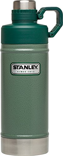 STANLEY Classic Vacuum Water Bottle, Hammertone Green, 18 oz