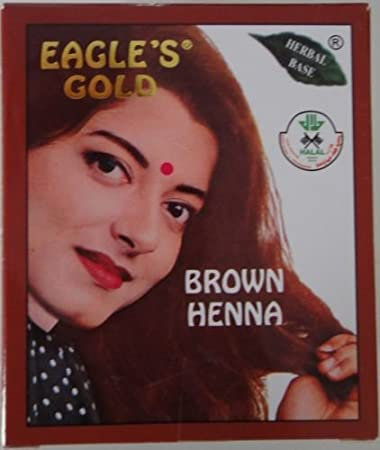 Buy 2 Boxes Eagle S Gold Brown Henna Hair Colour Color Dye Powder And Unisex Online At Low Prices In India Amazon In