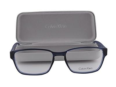 Calvin Klein CK5876 Eyeglasses 53-16-145 Shiny Night Blue 414