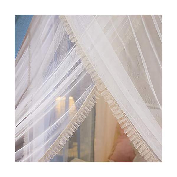 2 in 1 tessuto di tela staccabile zanzariera, 1.5m / 1.8m / 2m letto manto di crittografia delle famiglie Pavimento… 6 spesavip