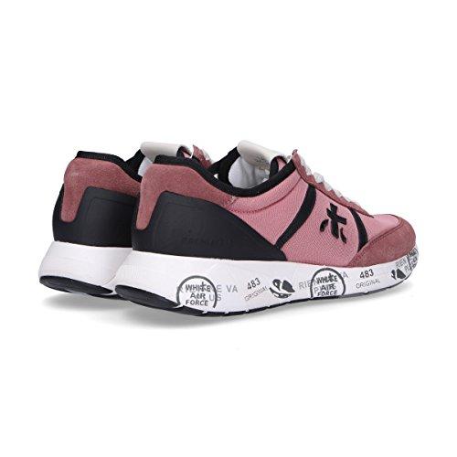 Premiata Vrouwen Hanzo3042 Roze Suède Sneakers