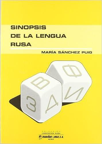 Sinopsis de la lengua rusa (Linguistica Rusa): Amazon.es: Maria Sanchez Puig: Libros