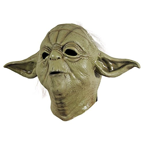 Adult Yoda Mask - R68465/24 Yoda Mask Newest Edition