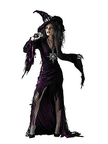 Disguise Unisex Child Sorceress, Purple, JR (7-9) Costume