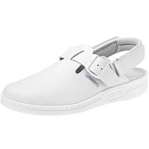 45 Sabot 45 7208 The Blanc Chaussure Taille Original Abeba 5ZwBXnqZ