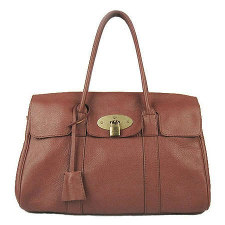 9594a61240d3 ... reduced mulberry bag bayswater natural leather red brown 09846 125b3