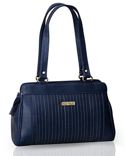 Fostelo Women's Royal Kate Shoulder Bag (Blue) (FSB-386)
