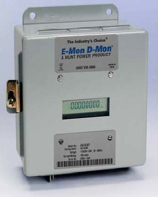 E-Mon D-Mon 208100 Kit Class 2000 3-Phase KWH Meter, 100A, 120/208-240V, 3 or 4 Wire
