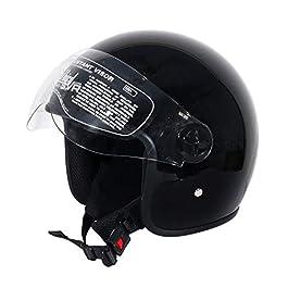 Steelbird SVR Helmet (Black, Large)