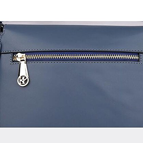 Piccola Donna Borsa Capacità Darkblue Handbag Da Shopping Tracolla Grande Borse Eg4ZxUqw6