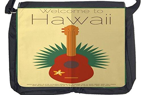 Borsa Tracolla Avventuriero Hawaii Stampato