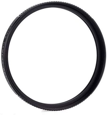 Leica E52 52mm UVa II Glass Filter Black