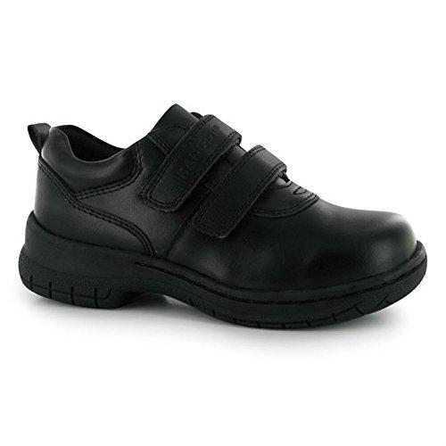 Kangol Churston V Kinder Schuhe Freizeit Klettverschluss Halbschuhe Schwarz