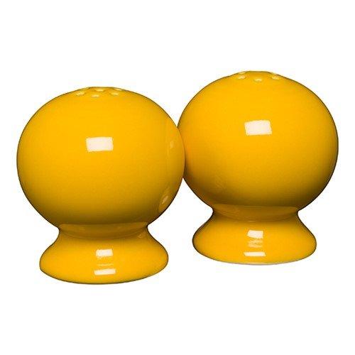 Homer Laughlin 497-342 Classic Fiesta Salt and Pepper Shaker Set, Daffodil Yellow Salt Shaker