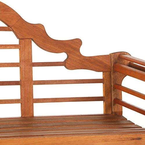 Achla Designs OFB-02 Lutyens Indoor/Outdoor Wood Bench