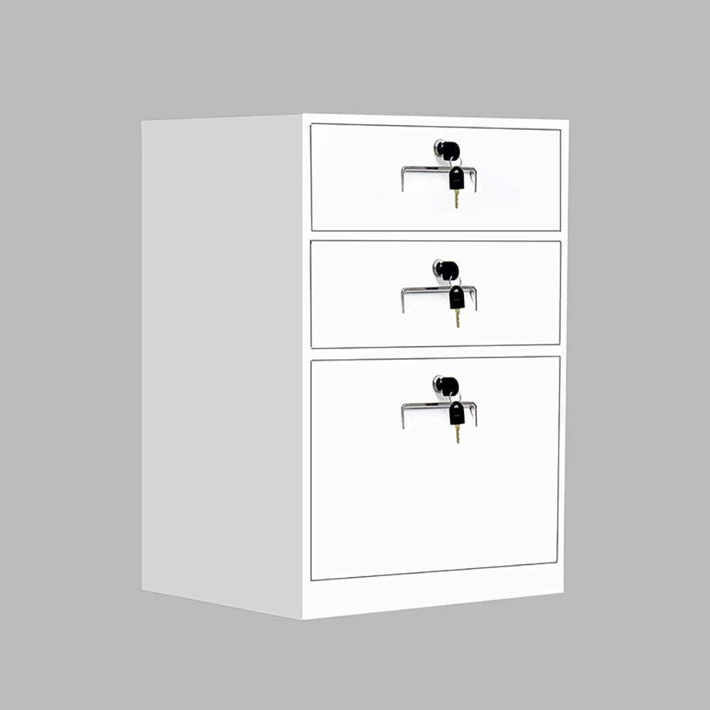 QSJY File Cabinets Disassembly Fireproof and Durable Large Space with Lock Metal Locker Compartment Design Storage Protection Important documents 443965cm (Color : B)