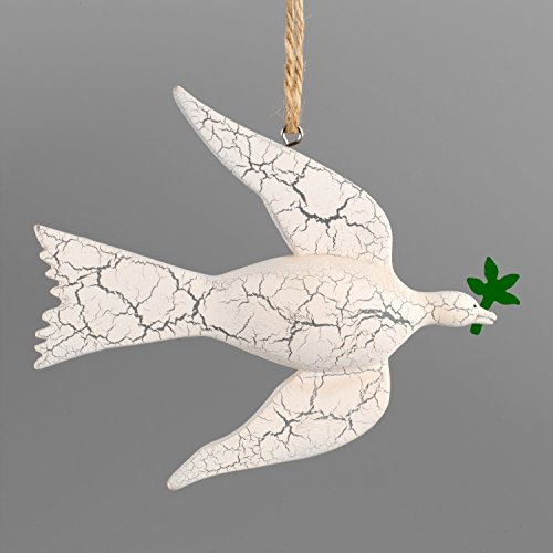 George Washington's Mount Vernon White Dove of Peace Ornament