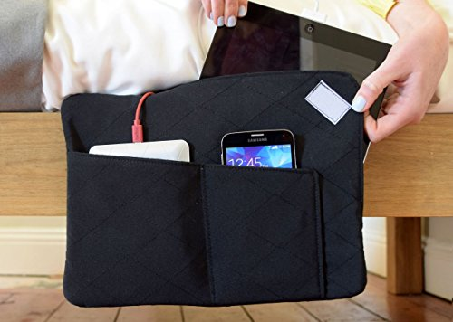 Z-Charge - Phone and tablet bedside storage with charging (Black)