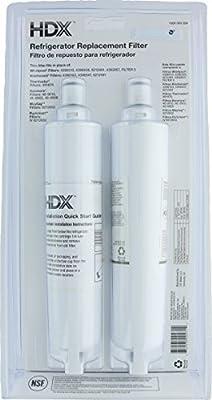 HDX FMW-2 Filtro de agua / purificador de repuesto para refrigeradores Whirlpool (paquete de 2): Amazon.es: Grandes electrodomésticos