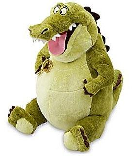 Amazoncom Disney The Princess and the Frog Louis Plush Toy  12