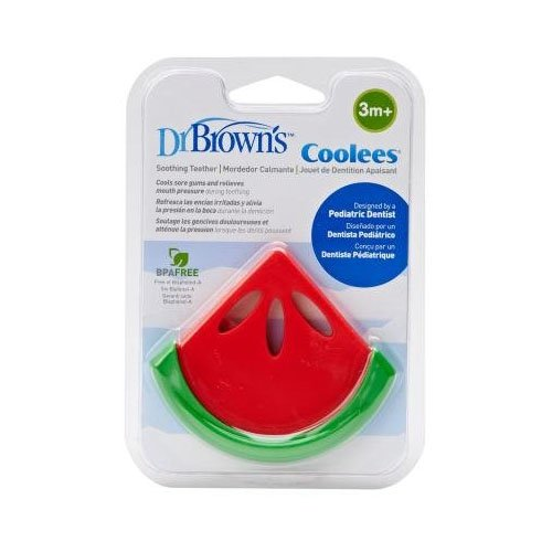 Dr. Brown's Coolees Soothing Teether, Watermelon]()