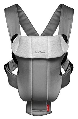 BABYBJORN Baby Carrier Original - Dark Gray/Gray, Jersey Cotton