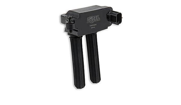 ACC 140038K-8 ACCEL 140038K-8 Coil Hemi Dual Plug 8Pk - Black