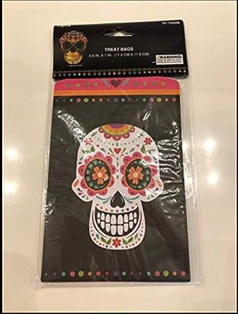 DIA DE LOS MUERTOS - Bolsas de regalo para vela, diseño de ...