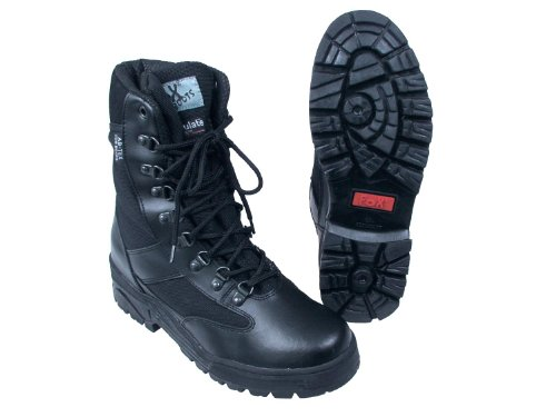 Fox Outdoor botas - Adventure Delux -, de nylon & cuero, forrado con Thinsulate Varios colores negro Talla:8