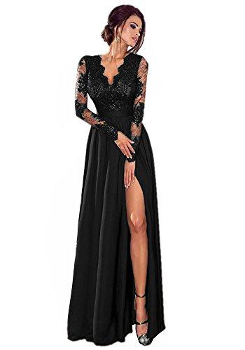 long black fairy dress - 6