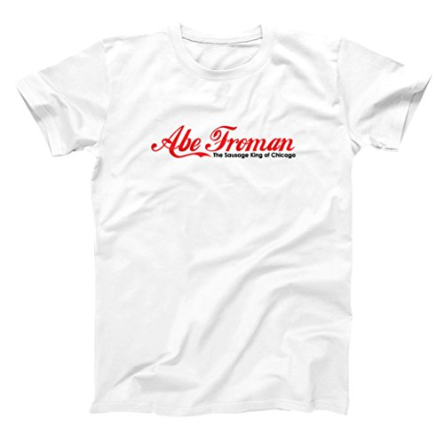 Abe Froman Funny Sausage King Chi Chicago Retro Old School Ferris 80s 90s Movie Humor Mens Shirt Large - Fashion Outlets If Chicago