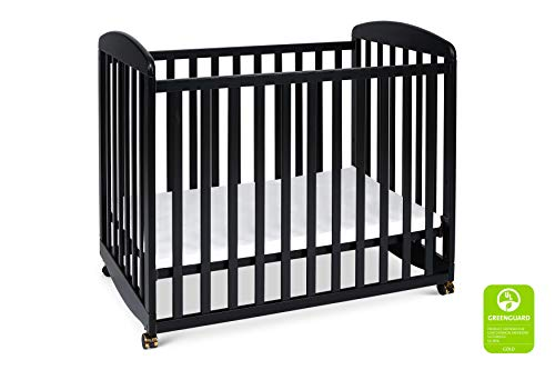 (DaVinci Alpha Mini Rocking Crib, Ebony )
