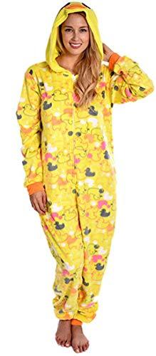 Body Huggable (Body Candy Women's Adult Animal Onesie Hooded Huggable Fleece Dreamy X-Large)