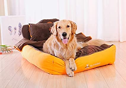 MJK Colchón para mascotas Cama para perros Colchoneta para ...