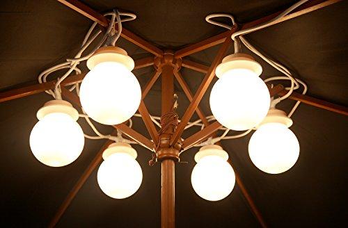 Kenley luci a bulbo Ø cm per gazebo giardino illuminazione