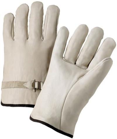 West Chester 990LSM Grain Cowhide Drivers Buckle Strap Glove Straight ThumbSelect Grade Dozen