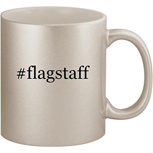 #flagstaff - 11oz Ceramic Coffee Mug Cup, Silver
