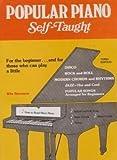 Popular Piano Self Taught, Stormen, Win, 0668053860